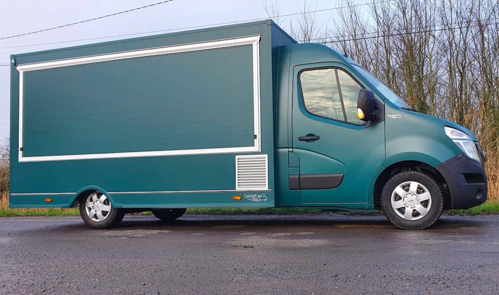 Réalisation Food truck XL