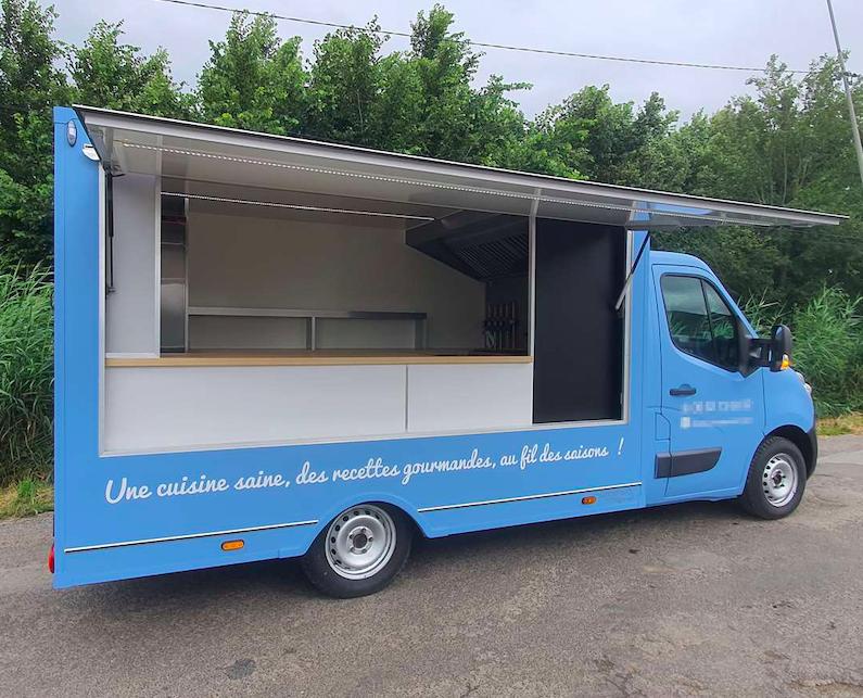 Réalisation Foodtruck M cuisine Normande